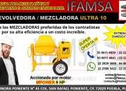 REVOLVEDORA/MEZCLADORA ULTRA 10, IFAMSA DISTRIBUIDOR