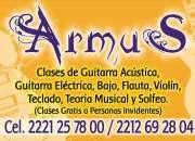 Armus: clases profesionales de música