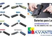 Venta de baterías, originales y compatibles para Laptop / Notebook.