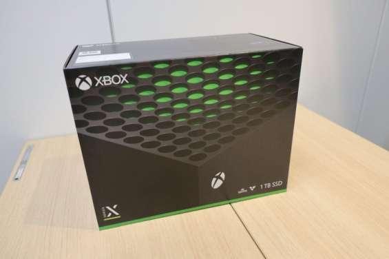 Consola xbox series x, nueva sellada