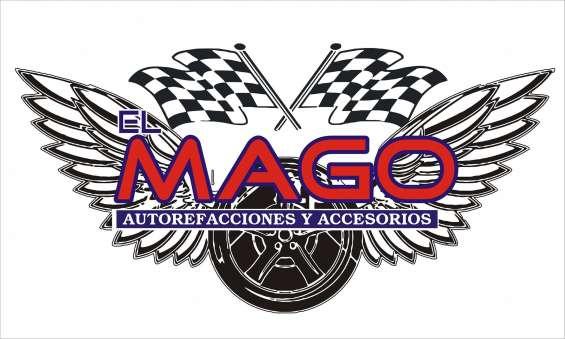 El mago auto refacciones- reparacion de chapas y elevadores