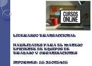 CURSO DE LIDERAZGO