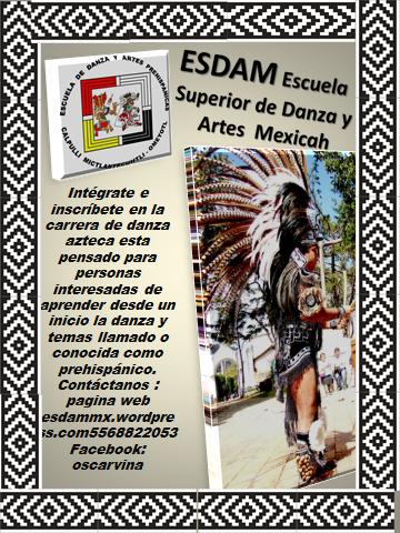 Carrera de danaza azteca