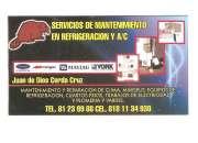 mantenimiento de refrigeración y a/c